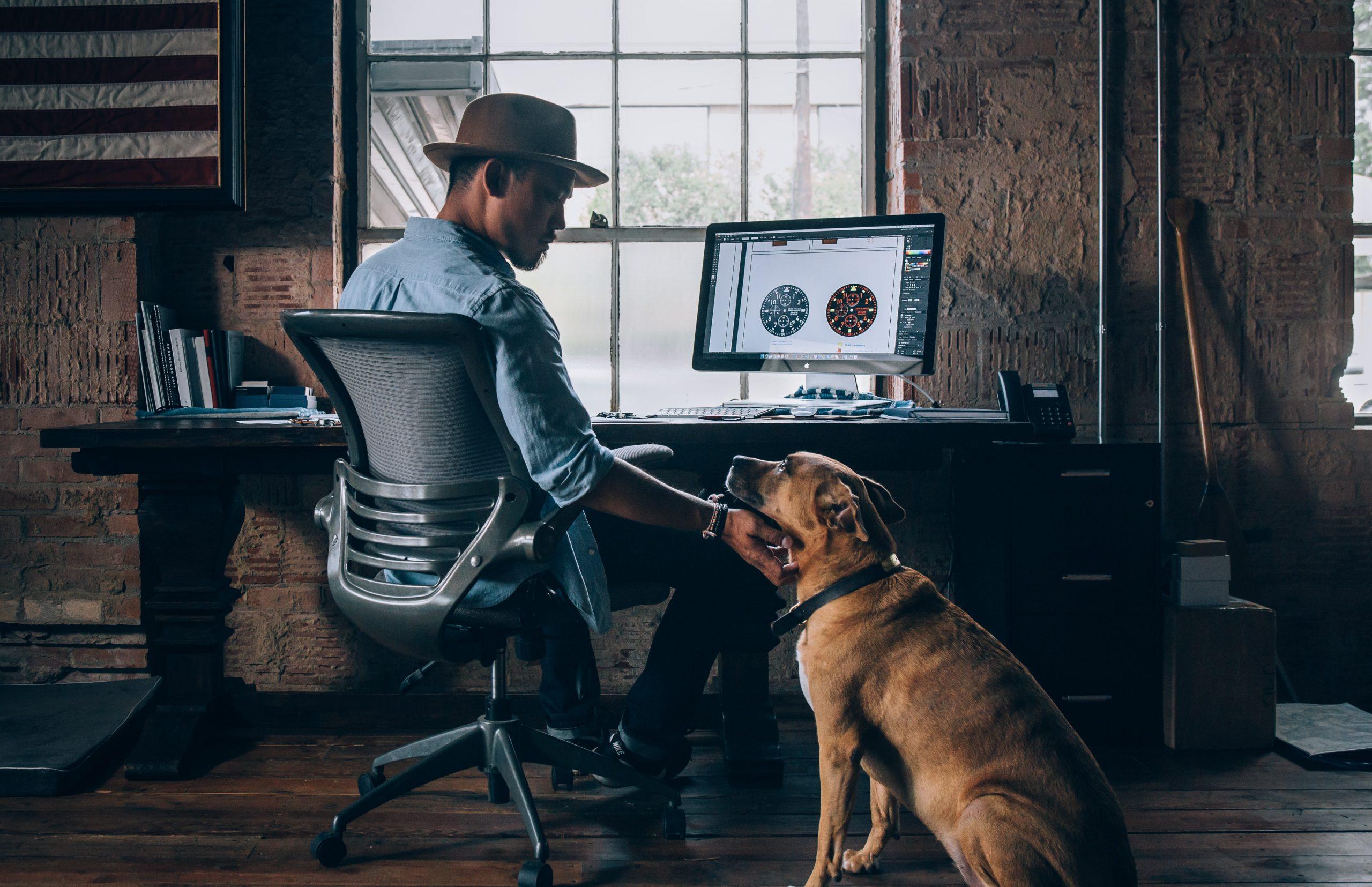 Benefici di avere il cane con sé in ufficio Pick Center