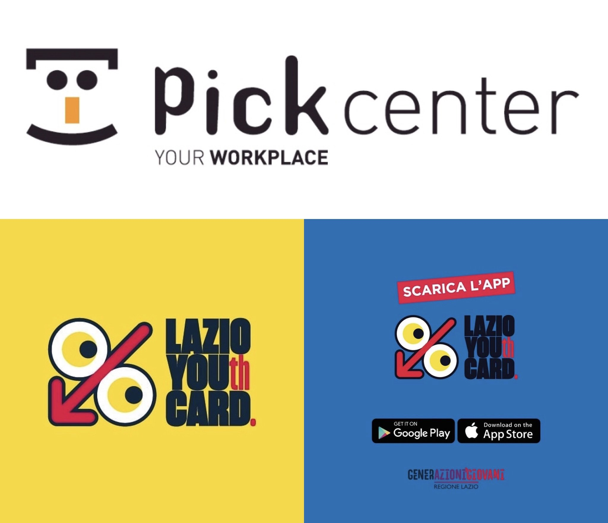 Pick Center entra in LazioYouthcard Pick Center