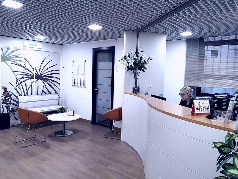 Business Center Pick Center Reception Uffici Arredati Pick Center