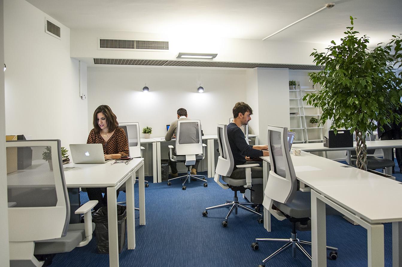 Uffici condivisi scelta sostenibile Pick Center